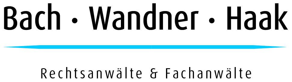 Bach · Wandner · Haak | Rechtsanwälte Fachanwälte